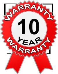 Warranty 10 year